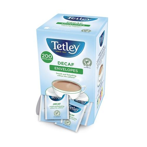 Tetley Tea Bags Decaffeinated Ref 1160A [Pack 200]