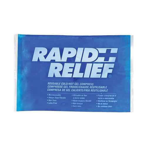 Rapid Relief Reusable Hot/Cold Gel Compress C/W Contour Gel 4in x 6in Ref RA12246 *Up to 3 Day Leadtime*