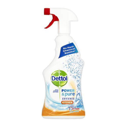 Dettol Power & Pure Advance Kitchen Cleaner Spray 750ml Ref RB788776