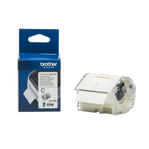 Brother Colour Label Printer Cleaning Cassette Ref CK1000