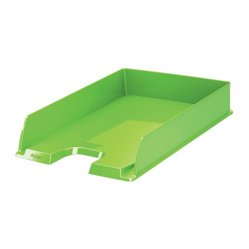 Rexel Choices A4 Letter Tray Green