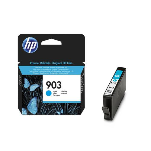 Hewlett Packard [HP] No.903 Inkjet Cartridge 4ml Page Life 315pp Cyan Ref T6L87AE