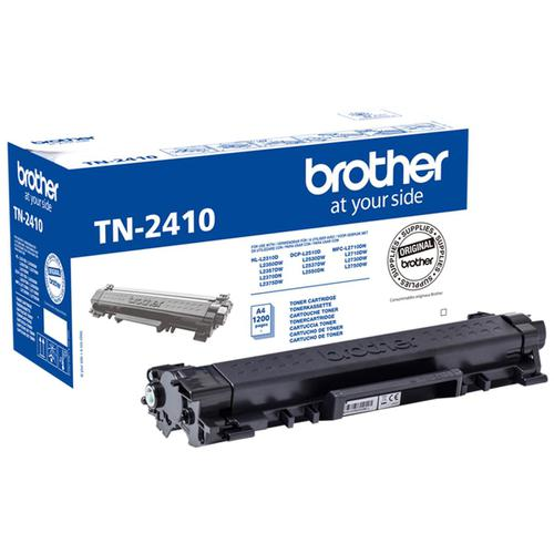 Brother TN2410 Laser Toner Cartridge Page Life 1200pp Black Ref TN2410