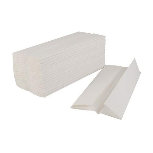 5 Star Facilities Flushable Hand Towel C-Fold 2-Ply 100 Towels Per Sleeve White Ref 1104015 [Pack 24]