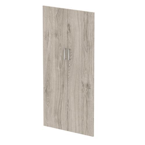 Trexus Door Pack For 1600mm High Cupboard Grey Oak Ref I003233
