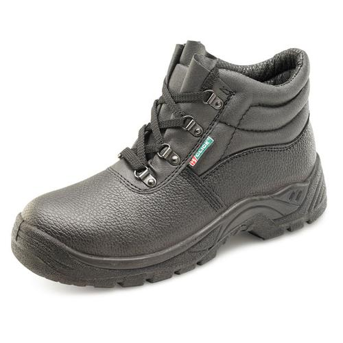 Click Footwear 4 D-Ring Midsole Boot PU/Leather Size 10 Black Ref CDDCMSBL10 *Up to 3 Day Leadtime*