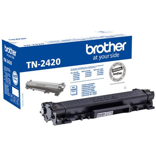 Brother TN2420 Laser Toner Cartridge High Yield Page Life 3000pp Black Ref TN2420