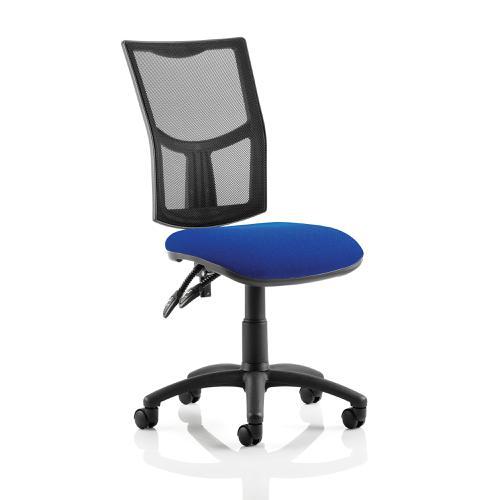 Trexus Eclipse II Lever Task Operator Chair Mesh Back Seat Blue Ref KC0168