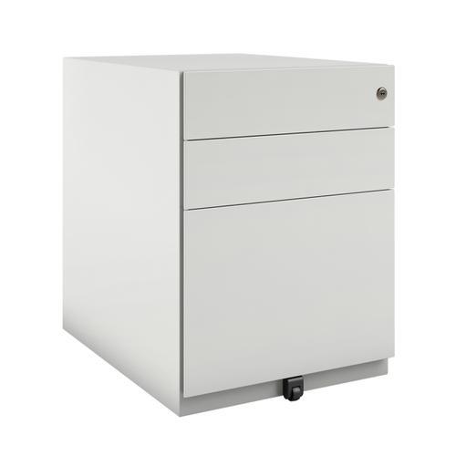 Bisley Note Mobile Pedestal 420x565x565mm White Ref NWA5AM7IIF-ab9