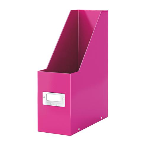 Leitz Click & Store Magazine File Collapsible Pink Ref 60470023