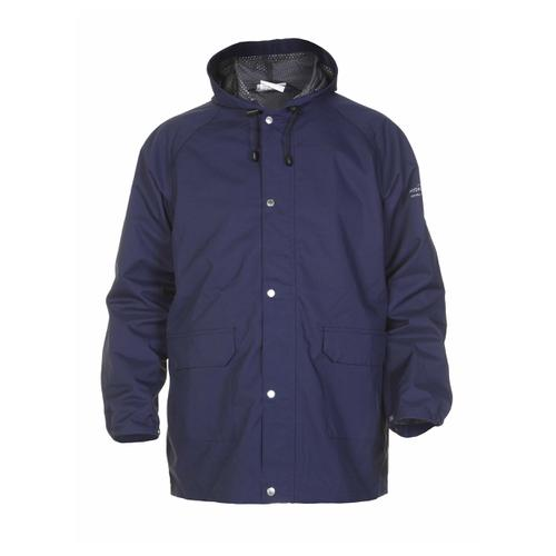 Hydrowear Ulft SNS Waterproof Jacket Polyester Small Navy Blue Ref HYD072400NS *Up to 3 Day Leadtime*