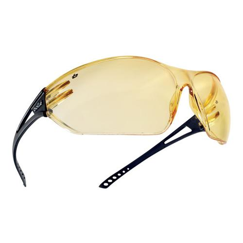 Bolle Slam Polycarb Anti-Smoke Anti-Fog Spectacles Yellow Ref BOSLAPSJ [Pack 10] *Up to 3 Day Leadtime*