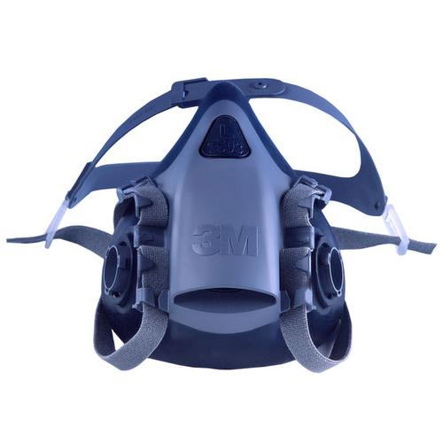 3M Silicone Half Mask Heat-resistant Small Blue Ref 7501 *Up to 3 Day Leadtime*