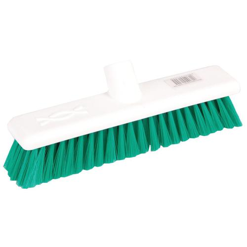 Robert Scott & Sons Abbey Hygiene Broom 12inch Washable Soft Broom Head Green Ref BHYRS12SG