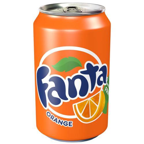 Fanta Orange Soft Drink Can 330ml Ref N001529 [Pack 24]