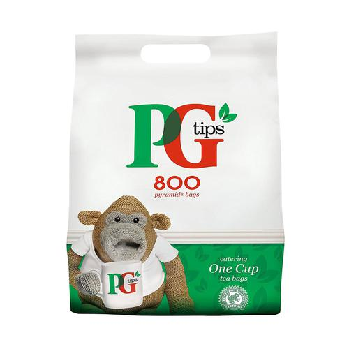 PG Tips 1 Cup Tea Bags Ref 67422456 [Pack 800]