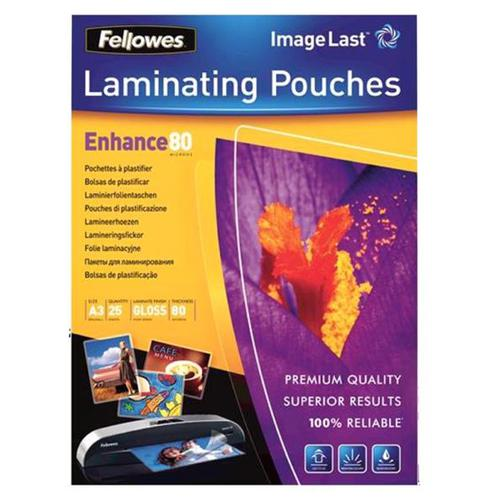 Fellowes Laminating Pouch 160 Micron A3 Ref 5396403 [Pack 25]