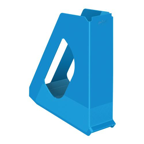 Rexel Choices Magazine File Capacity 60mm Blue Ref 2115603
