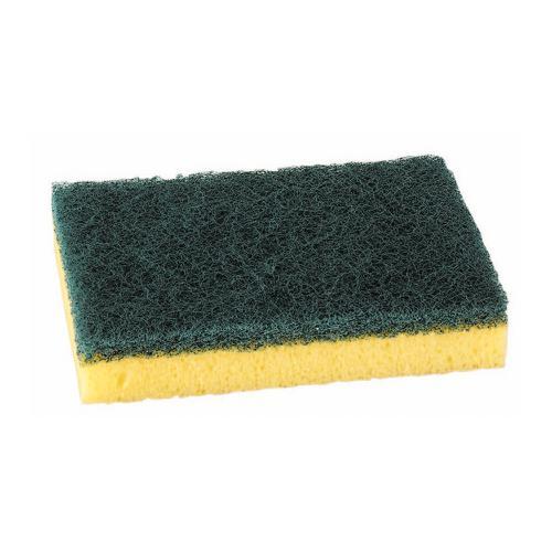 Sponge Scourer Recycled Non-Scratch Heavy Duty Blue [Pack 10]