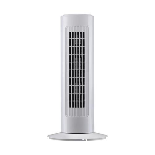 5 Star Facilities Tower Fan 90deg Oscillating 3-Speed 120-Minute Timer 40 Watts H762mm White