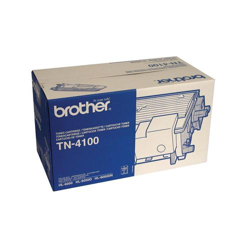 Brother Laser Toner Cartridge High Yield Page Life 7500pp Black Ref TN4100