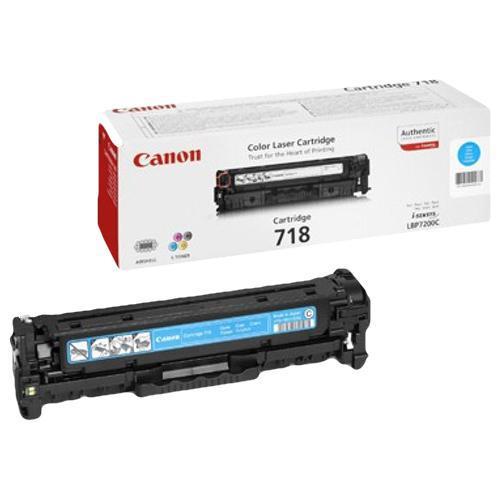 Canon 718C Laser Toner Cartridge Page Life 2900pp Cyan Ref 2661B002