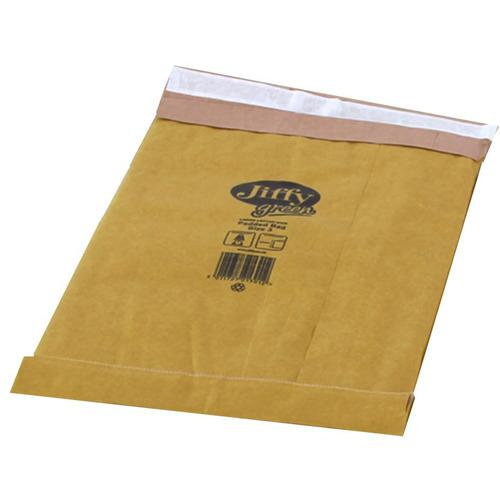 Jiffy Padded Bag Envelopes Size 3 P&S 195x343mm Brown Ref JPB-3 [Pack 100]