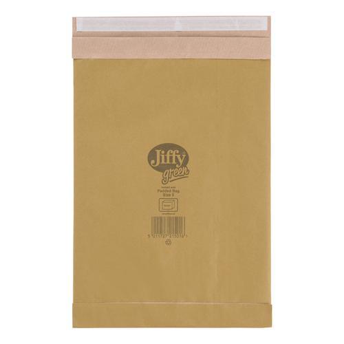 Jiffy Padded Bag Envelopes Size 5 245x381mm Brown Ref JPB-5 [Pack 100]