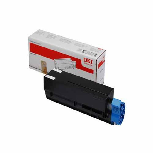 OKI Laser Toner Cartridge Extra High Yield Page Life 12000pp Black Ref 44917602