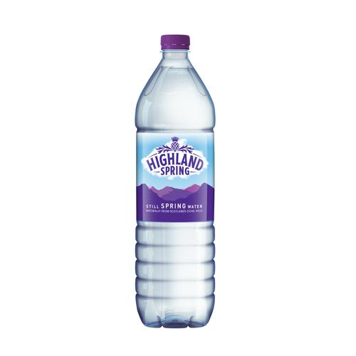 Highland Spring Water Still Bottle Plastic 1.5 Litre Ref F96652 [Pack 12]