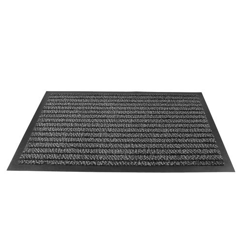 Doortex Ultimat Entrance Mat Indoor Use Nylon Monofilaments 1200x1800mm Grey Ref FC4120180ULTGR