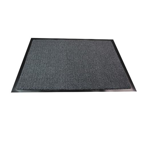 Doortex Valuemat Entrance Mat Indoor Use Hard Wearing 800x1200mm Grey Ref FC480120VALGR