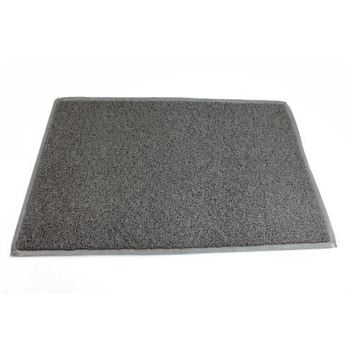 Doortex Twistermat Outdoor Mat Vinyl Fibre Surface Vinyl Back 600x900mm Storm Grey Ref FC46090TWISG