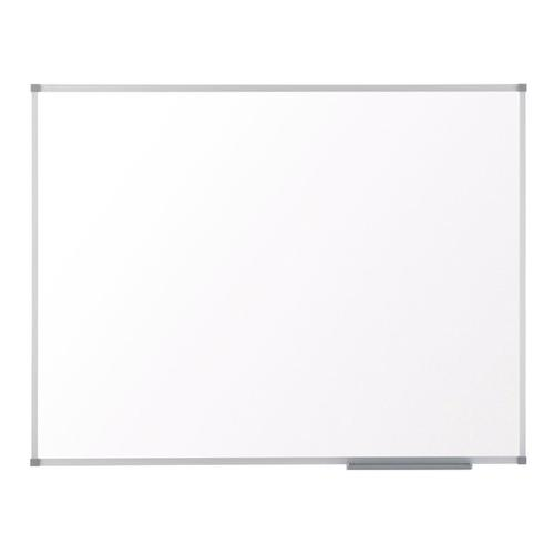 Nobo Classic Nano Drywipe Board Magnetic Steel with Fixings Slim Frame W2100xH1200mm White Ref 1902649