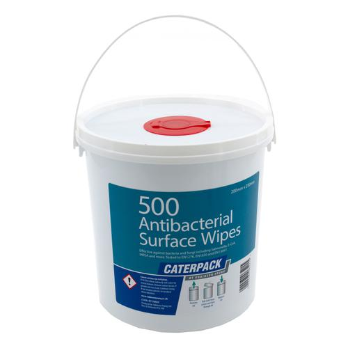 Robinson Young Caterpack Wipes Antibacterial Disinfectant 200x230mm Ref 10682 [Pack 500]