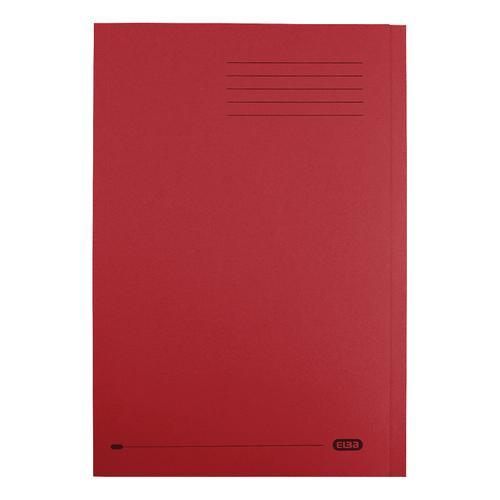 Elba StrongLine Square Cut Folder 320gsm 32mm Foolscap Bordeaux Ref 100090025 [Pack 50]