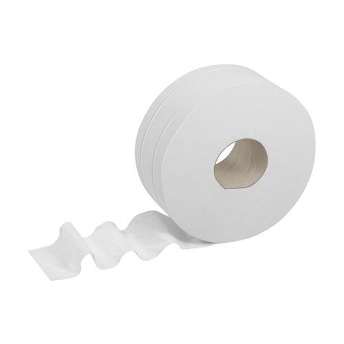 Kleenex Midi Jumbo Toilet Rolls 500 Sheet per roll 2-ply 380x90mm White Ref 8570 [Pack 6]