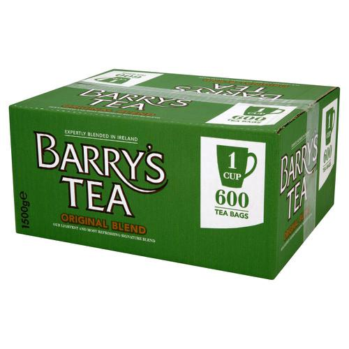 Barrys Original Green Label 1 Cup Tea Bags [Pack 600]
