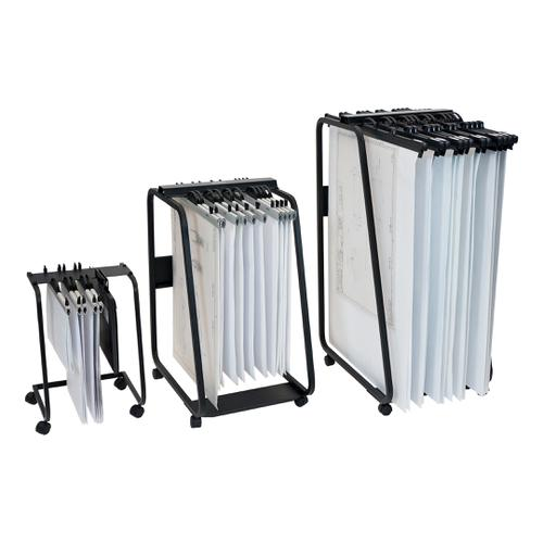 Arnos Hang-A-Plan General Front Load Trolley for Approx 20 Binders A1-A2-B1 W550xD730xH990mm Ref D061