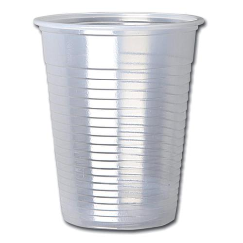 Cup for Water Cold Drinks Plastic Non Vending Machine 7oz 207ml Clear Ref 30009 [Pack 100]