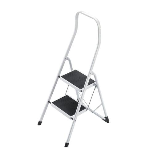 5 Star Facilities Safety Steps Folding Safety Rail H0.5m 2 Treads Capacity 150kg H2.26m 4.9kg