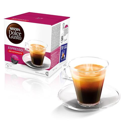 Nescafe Espresso Capsules for Dolce Gusto Machine Ref 12019859 Packed 48 (3x16 capsules=48 Drinks)