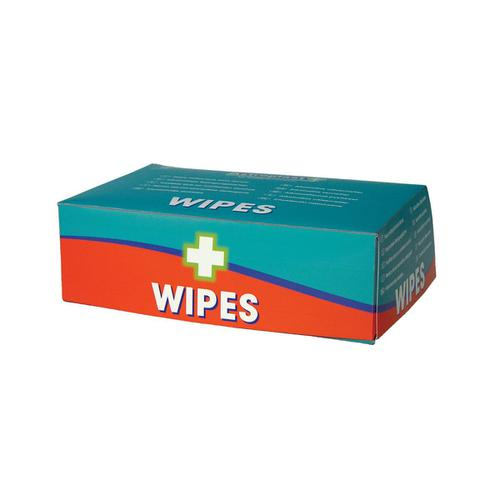 Wallace Cameron Wipes Alcohol Free for all First-Aid Kits Ref 1602014 [Pack 100]