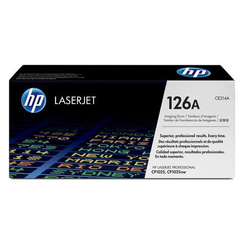 Hewlett Packard [HP] No. 126A Laser Drum Unit Page Life 14000pp Black/7000pp Colour Ref CE314A