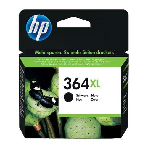 Hewlett Packard [HP] No.364XL Inkjet Cartridge High Yield Page Life 550pp 18ml Black Ref CN684EE