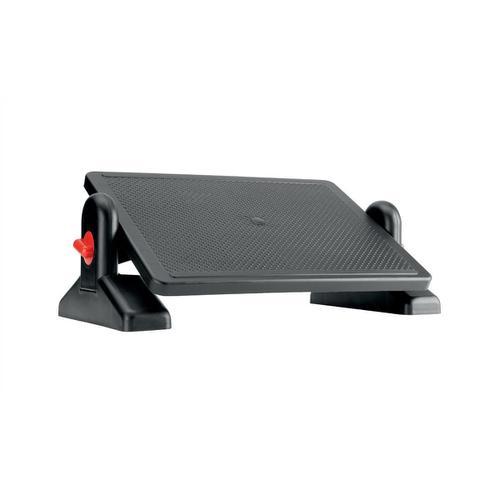 Office Footrest ABS Plastic Easy Tilt H115-145mm Platform 415x305mm Ref FR002