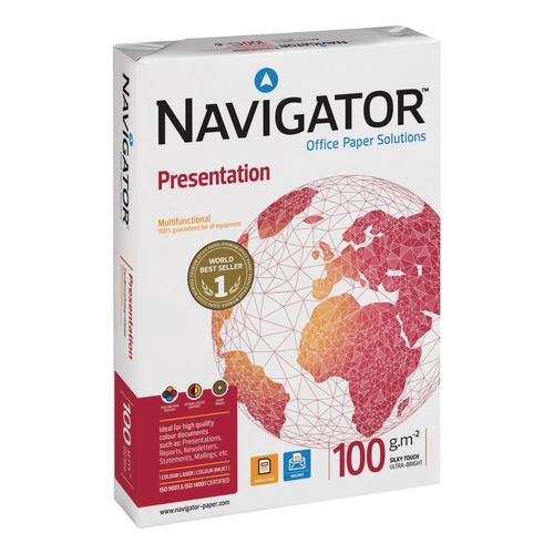 Navigator Presentation Paper Ream-Wrapped 100gsm A3 Wht Ref NPR1000018 [500 Shts]