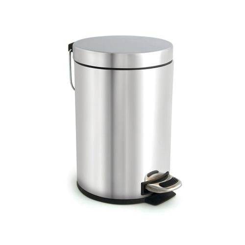 Pedal Bin with Removable Inner Bucket 3 Litre Stainless Steel