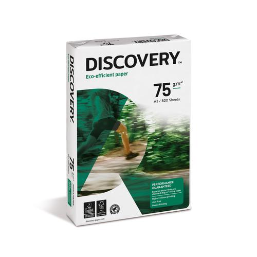 Discovery Paper FSC Ream-Wrapped 75gsm A3 White [500] Sheets