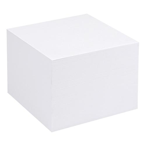 5 Star Office Refill Block for Noteholder Cube Approx. 750 Sheets of Plain Paper 90x90mm White